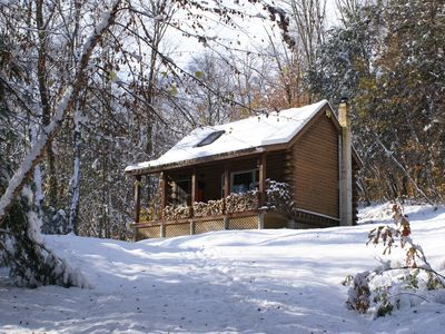 Photo for Log Cabin -  Cozy, Quaint & Scenic and ready for Your Enjoyment!