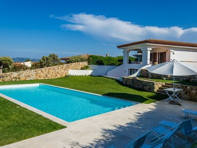 Photo for Villa Smeralda, with large swimming pool and garden, stunning views of the Archipelago