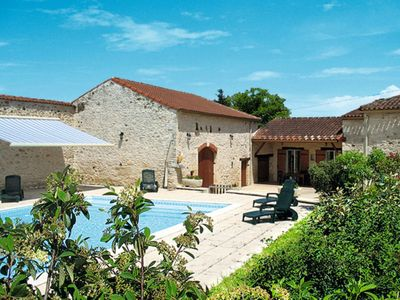 Photo for Vacation home Ferienhaus mit Pool (BSB301) in Blanquefort-sur-Briolance - 9 persons, 4 bedrooms