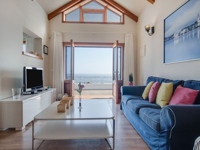 """Photo for Quiet Holiday Home """"Casa Jimena"""" with Fantastic Sea and Mountain View, Wi-Fi & Terrace; Parking Available"""