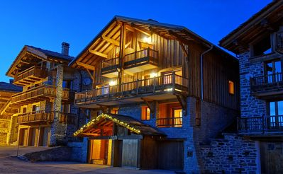 Photo for Chalet Esquirol (Hermine) - Ski-in ski-out, exceptional view