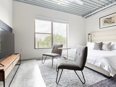 Photo for Sonder | Mid Main Lofts | Stylish Studio + Pool