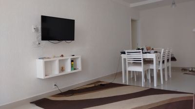 Photo for Apt Noble Region of Guaruja / Pitangueiras Beach / 80M from the sea