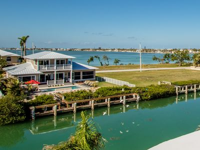Photo for New Construction Luxury Home With Pool! 2 Master En-Suites, Private Inch Beach