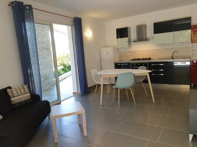 Photo for T2 5 minutes from the beaches, on the ground floor of a villa