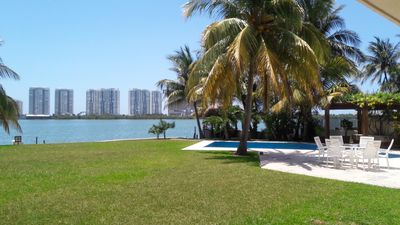 Photo for Wonderful Private Villa Facing the Water lagoon side in the Hotel Zone