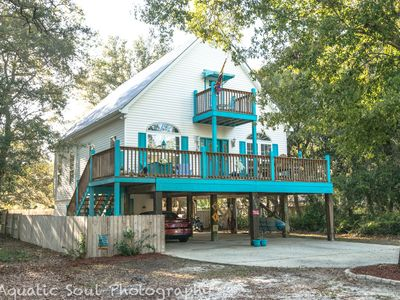 "Photo for Orange Beach ""Turquoise Dream"" is a cheerful cottage in the heart of Bear Point"