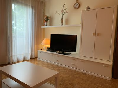 Photo for 2 room apartment in the countryside directly on the golf course