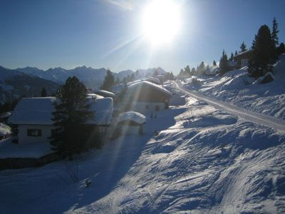 Photo for Vacation apartment 1800m above sea level in Kaltenbach skiing area, by a nursery