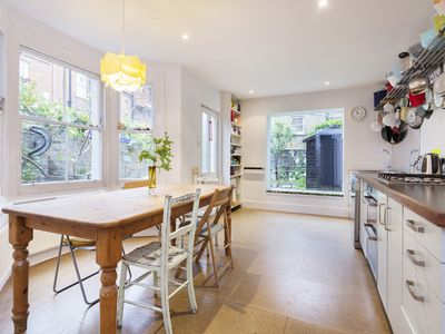 Photo for A fun 4 bed home located in moments from lush Highbury fields (Veeve)