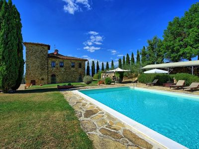 Photo for 8BR Country House / Chateau Vacation Rental in Bucine, Toscana