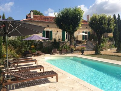 Photo for Charming country House Private pool, spa, gym, large private garden.