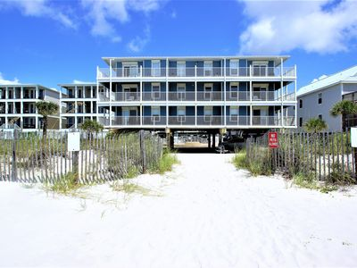 Photo for Adorable 2 bedroom condo, 4th floor, Right by the beach! Up to $100 discount pass included!