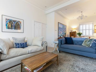 Photo for Peaceful 3BR with garden & terrace in Battersea, 15min from Victoria, by Veeve