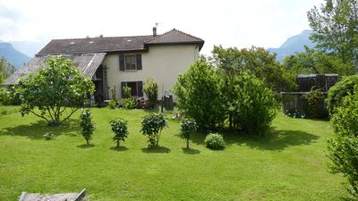 Photo for Detached house in the countryside in the Alps for 4 people, free wifi