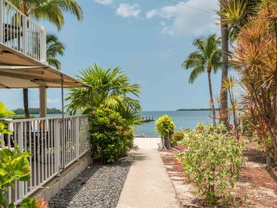Photo for Beautiful Key West Waterfront Condo with boat dock