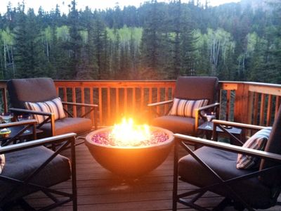 Photo for Luxury Mountain Cabin  overlooking Cascade Creek  7th nite FREE