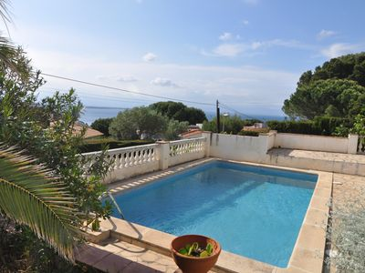 Photo for GREAT HOUSE WITH PRIVATE POOL AND SPECTACULAR SEA VIEWS
