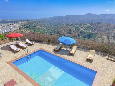 Photo for Villa Lizar - Detached Villa with Panoramic Views a Private pool, WI-FI & A/C