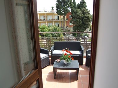 Photo for Apartment with beautiful terrace with sea view for 2/5 people in the center