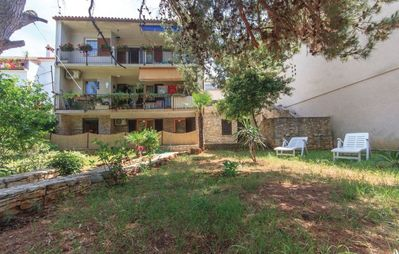 Photo for Holiday apartment with garden, washing machine and dishwasher