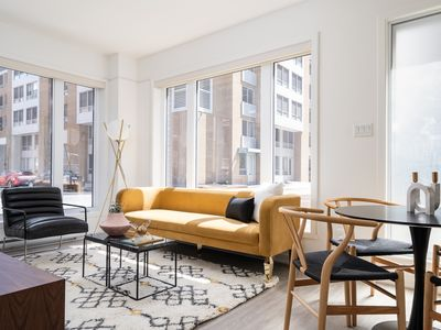 Photo for Colorful 1BR in Quartier des Spectacles by Sonder