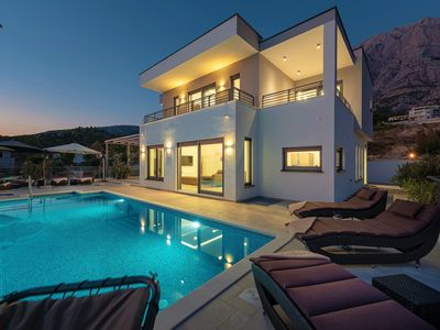 Photo for ** LASTMINUTE **, Villa Felicita with pool and sea views