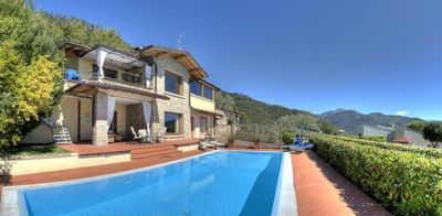 Photo for Detached 4 Bedroom Villa With Stunning Lake Views And Private Pool