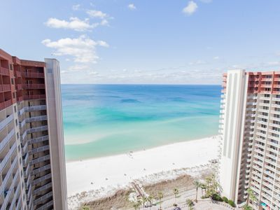 Photo for Gulf Front! Incredible Views! Best Pool! Huge Balcony! Master Bed on the Gulf!
