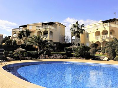 Photo for NEW: Beautiful apartment with balcony and large pool