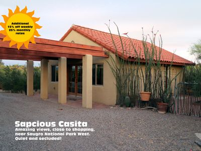 Photo for Amazing location private and secluded yet near everything!