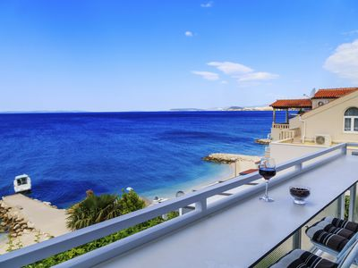 Photo for SEAFRONT APARTMENT WITH A STUNNING VIEW