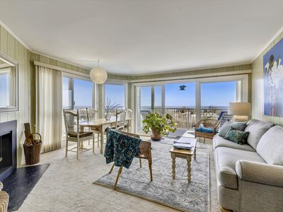 Photo for Direct Oceanfront in North OC - Great Views from Floor-to-Ceiling Windows!