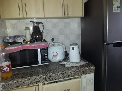 Photo for Welcome to a home away from home very neat ,friendly environment,24hrs security