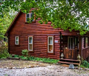 Photo for Peaceful, Serene, Cabin Tucked in the Woods, Perfect Glamping Experience