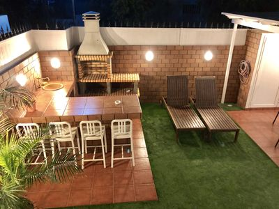 Photo for Casa CHAO Private terrace, Barbecue, Wifi, AIR CONDITIONING