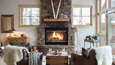 Photo for Cozy mountain town home, steps from Jackson Hole chairlift