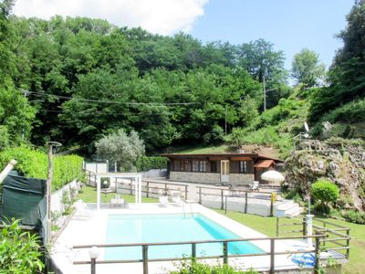 Photo for 2 bedroom Villa, sleeps 5 in Lucese with Pool and WiFi