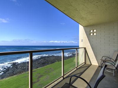 Photo for Kuhio Shores #211 - Best Value Oceanfront Condo in Poipu!