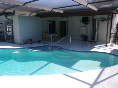 Master Suite Has Its Own Pool Access Door, Which Is Also A Pool Bathroom Access.