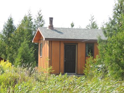 Photo for Waterfront Cozy Cabin On Private Trout  Lake