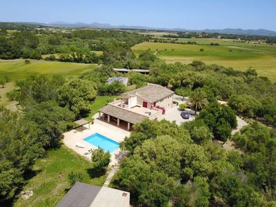 Photo for Fabulous and HUGE Villa Son Calderó, with a private POOL, garden & BBQ