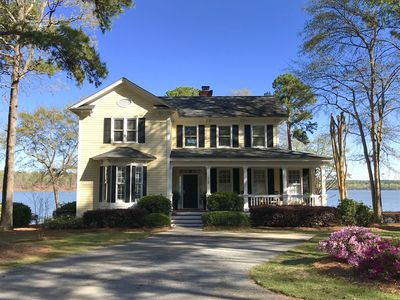 Photo for Lakefront Home at Reynolds Lake Oconee in Great Waters with the best lake views!