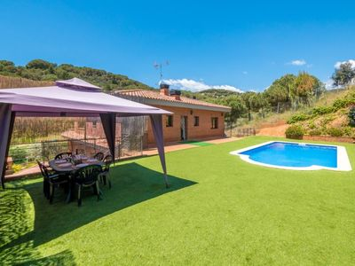 Photo for Club Villamar - Cozy villa with a nice private pool surrounded by lawn, situated at only 500 mete...