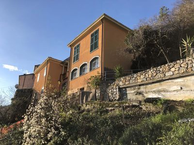Photo for BELVEDERE Apt, 12 Pax, 15th Century Old Mill, free Wi-Fi, near to Cinque Terre