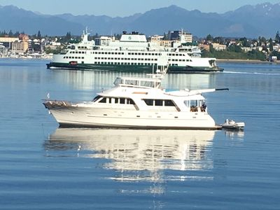 Photo for 76' Luxury Yacht with City View