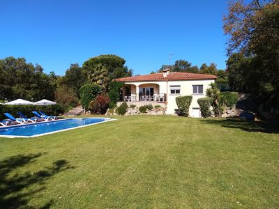 Photo for Luxury Villa with Large Pool and Gardens and Great Views near Girona, Barcelona