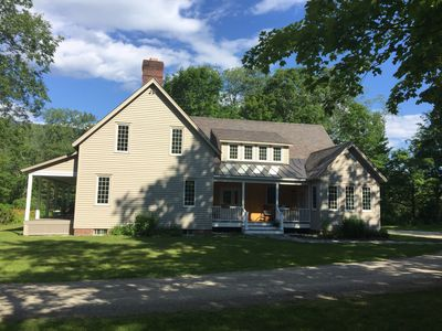 Photo for Gorgeous- on acreage- in Dorset/ Manchester- close to skiing, shopping, dining