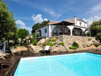 Photo for Domaine Brellinga villa with panoramic private pool views