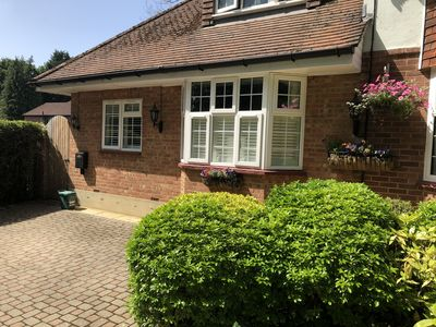 Photo for 1 bedroom self-contained Annex/apartment near West Byfleet Station